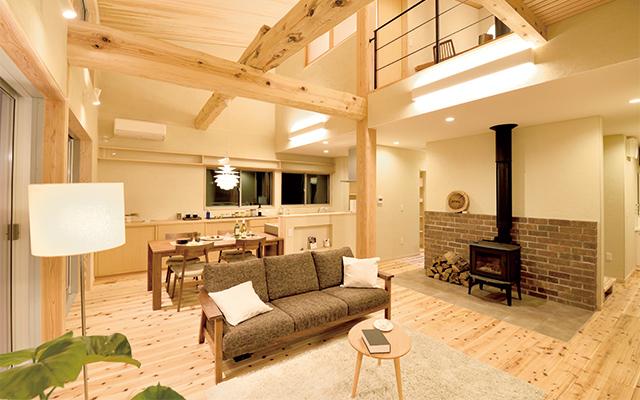 富山県産材の使用した一般住宅
